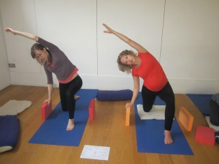 Antenatal yoga with Deva priya